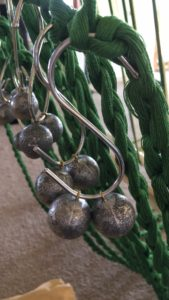 Weights on the warping trapeze - fishing weights