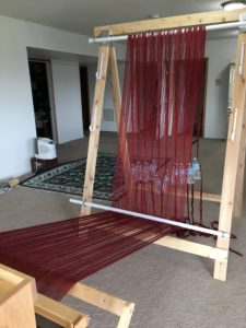 warping trapeze - warp completely weighted