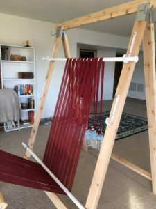 warping trapeze - top bar adjustment